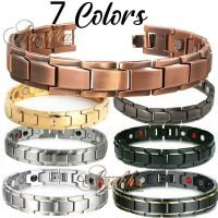 COPPER-MAGNETIC-BRACELET-ALLOY-BIO-THERAPY-PURE-SOLID-COPPERWOMEN-ARTHRITIS-PX02
