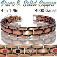 COPPER-MAGNETIC-BRACELET-VISHACH-PURE-SOLID-COPPER-MEN-WOMEN-ARTHRITIS-THERAPY-ARTHRITIS-PC10